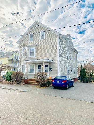 East Providence Multi Family Home Act Und Contract: 173 Quarry St