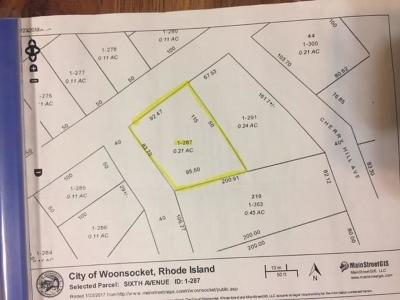 Woonsocket RI Residential Lots & Land For Sale: $25,000