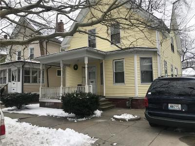 Providence County Single Family Home For Sale: 358 New York Av