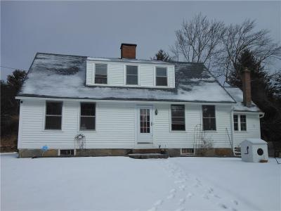 Scituate Single Family Home For Sale: 120 Knight Hill Rd