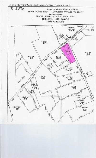 Foster RI Residential Lots & Land For Sale: $105,000