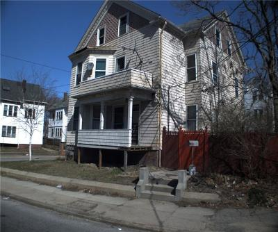 Providence RI Multi Family Home For Sale: $185,000