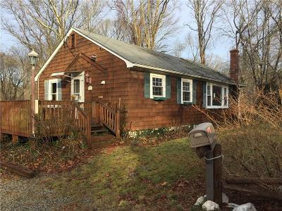 South Kingstown Single Family Home For Sale: 3703 Tower Hill Rd