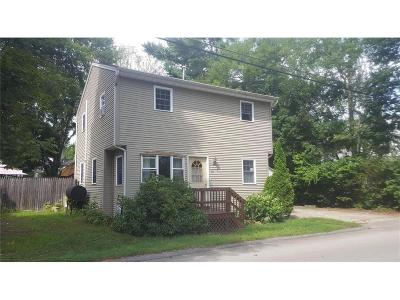 West Warwick Single Family Home For Sale: 20 Woodbine St