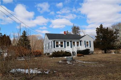 Hopkinton RI Single Family Home Act Und Contract: $299,900