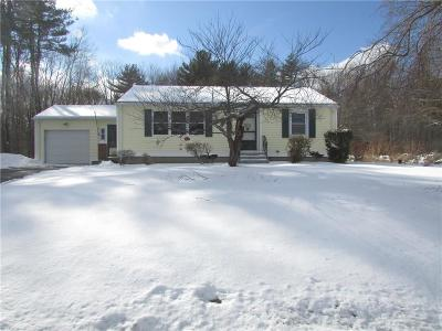 Glocester Single Family Home For Sale: 68 Money Hill Rd