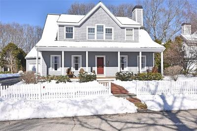 North Kingstown Single Family Home Act Und Contract: 418 Wickford Point Rd