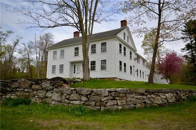 Worcester County, Providence County, Windham County Single Family Home For Sale: 378 Route 171