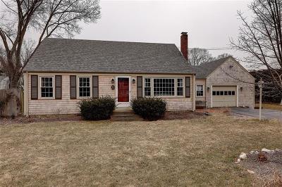 Barrington Single Family Home For Sale: 5 Belvedere Av