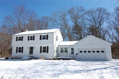 Bristol County Single Family Home Act Und Contract: 17 Rustwood Dr