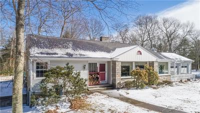 Coventry Single Family Home For Sale: 1374 Hill Farm Rd