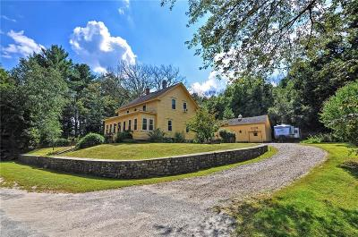 Burrillville Single Family Home Act Und Contract: 180 Old Wallum Lake Rd