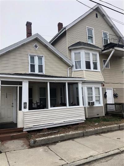 Woonsocket Multi Family Home For Sale: 179 Second Av