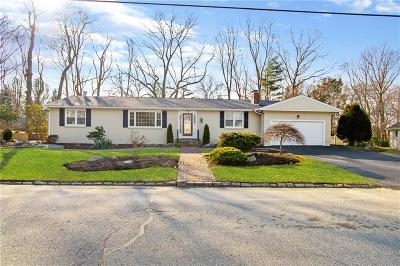 Cranston Single Family Home For Sale: 170 East Hill Dr