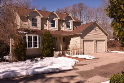 North Kingstown Single Family Home Act Und Contract: 57 Clover Ct