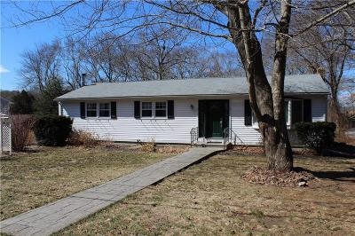 South Kingstown Single Family Home Act Und Contract: 5 Johnny Cake South Trl