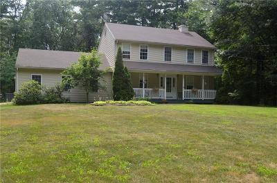 Glocester Single Family Home For Sale: 252 Joe Sarle Rd