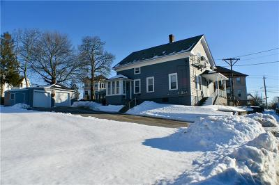 Woonsocket Multi Family Home Act Und Contract: 268 Cottage St