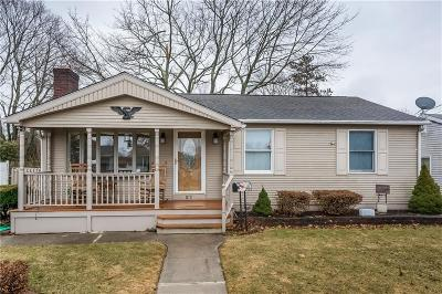 West Warwick Single Family Home For Sale: 21 Lee St