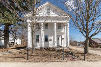 Burrillville Multi Family Home Act Und Contract: 116 Harrisville Main St