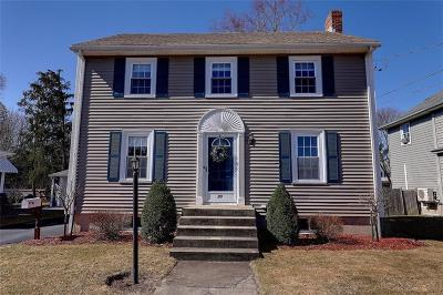 East Providence Single Family Home Act Und Contract: 73 Hope St