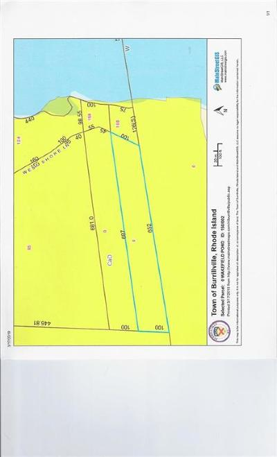 Burrillville RI Residential Lots & Land For Sale: $80,000