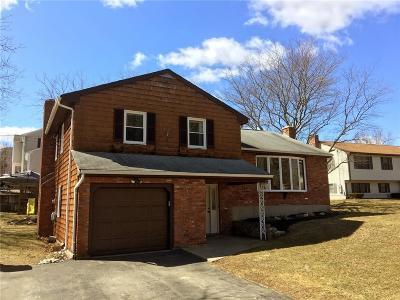 Providence County Single Family Home For Sale: 275 Jillson Av