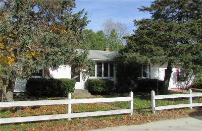 Coventry Single Family Home For Sale: 3 Leader St