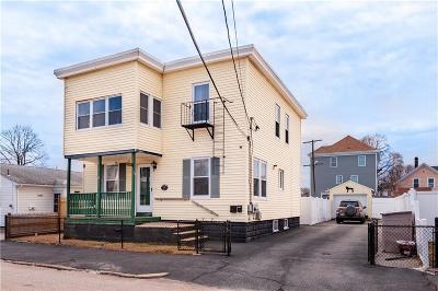Pawtucket Multi Family Home For Sale: 19 Charpentier Avenue Av