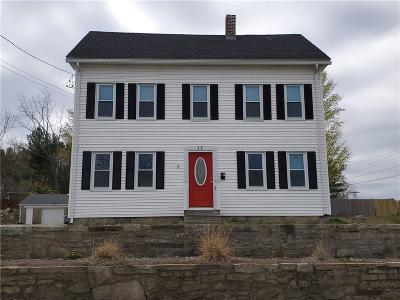Coventry Single Family Home For Sale: 17 South Main St