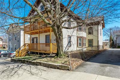 Woonsocket Multi Family Home For Sale: 22 Grove St