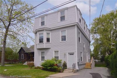 Newport County Condo/Townhouse Act Und Contract: 77 Garfield St, Unit#3 #3