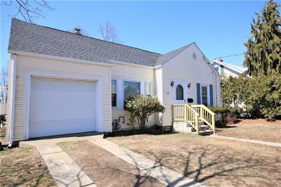 Warwick RI Single Family Home For Sale: $229,000
