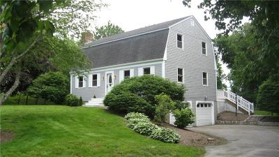Tiverton Single Family Home For Sale: 80 Wampanog Lane