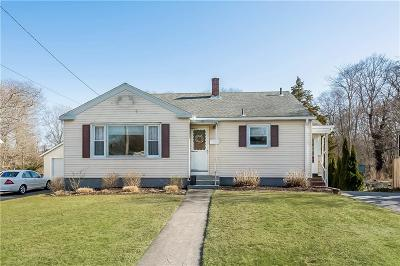 Westerly Single Family Home For Sale: 89 Wells St