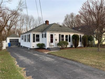 Cranston Single Family Home Act Und Contract: 91 Howland Rd