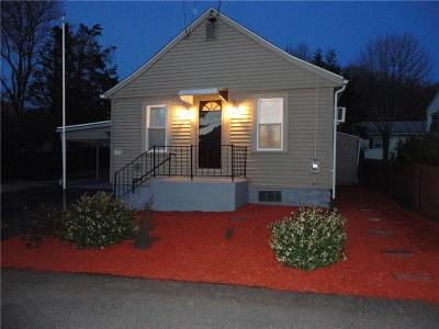 Woonsocket Single Family Home Act Und Contract: 36 Cliffe Av