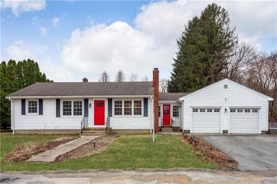 West Warwick Single Family Home For Sale: 76 Alden Dr