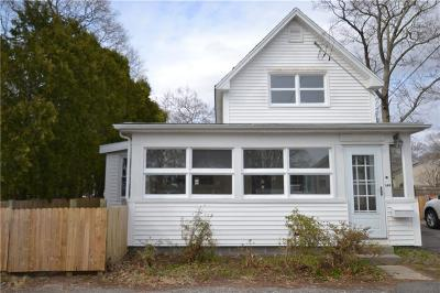 East Providence Single Family Home Act Und Contract: 149 Park Dr