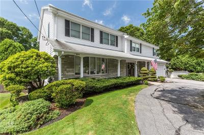 Cranston Single Family Home For Sale: 55 Meshanticut Valley Pkwy