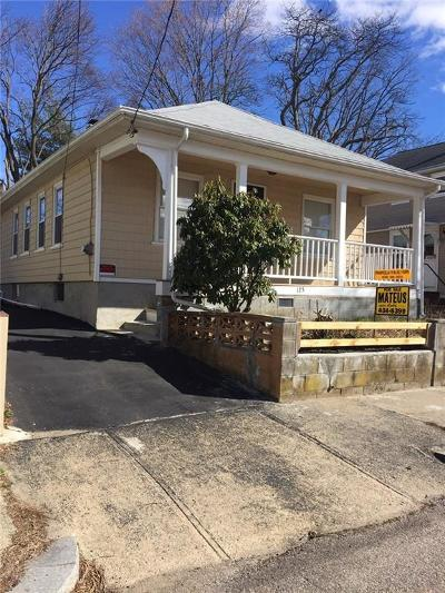 East Providence Single Family Home Act Und Contract: 125 Ivy St