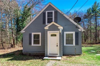 Glocester Single Family Home Act Und Contract: 33 Pine Rd