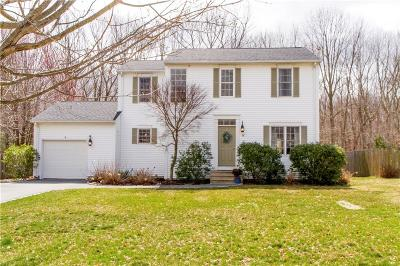 Coventry Single Family Home For Sale: 38 Hunters Crossing Dr