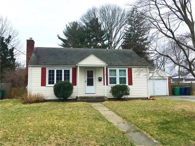 Warwick Single Family Home Act Und Contract: 122 Parkway Dr