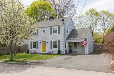 Providence County Single Family Home For Sale: 7 Harris St