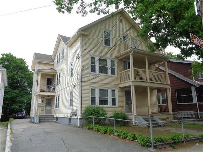 Woonsocket Multi Family Home For Sale: 209 Harrison Av