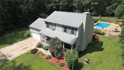 Coventry Single Family Home For Sale: 210 Sisson Rd