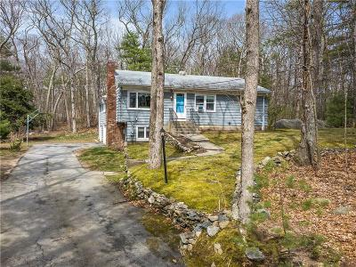 Glocester Single Family Home For Sale: 485 Snake Hill Rd