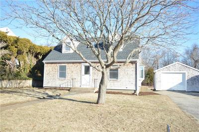 South Kingstown Single Family Home For Sale: 133 Macarthur Blvd