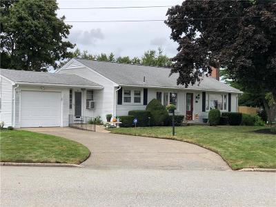 Pawtucket RI Single Family Home For Sale: $268,500